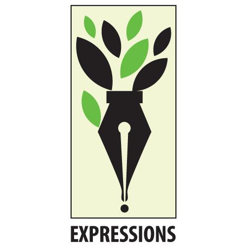 Expressions – Logo Black