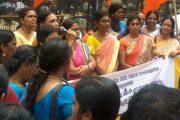 ഡി.സി ബുക്സിലേക്ക് ഹൈന്ദവസംഘടനകള് പ്രതിഷേധമാര്ച്ച് നടത്തി