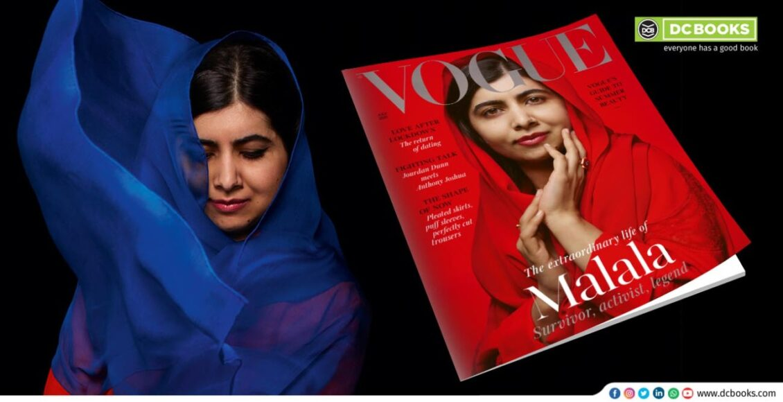 Nobel Laureate makes it to Vogue cover